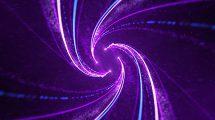 پروژه افترافکت نمایش لوگو مارپیچ پارتیکلی Particle Spiral Logo