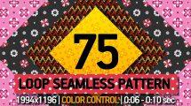 پروژه افترافکت 75 الگوی متحرک Pattern Loop