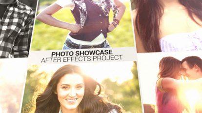 پروژه افترافکت نمایش عکس Photo Showcase