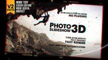پروژه افترافکت اسلایدشو عکس Photo Slideshow 3D