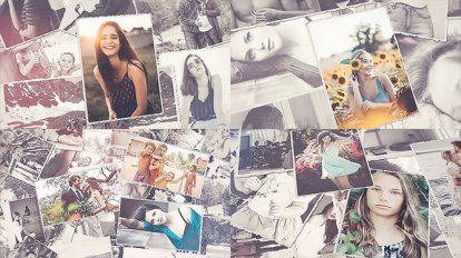 پروژه افترافکت اسلایدشو نمایش عکس خانوادگی Photo Slideshow