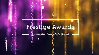پروژه افترافکت مراسم جوایز Prestige Awards