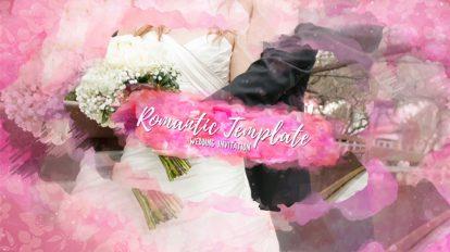 پروژه افترافکت نمایش عکس های عاشقانه Romantic Template