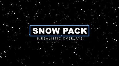 مجموعه ویدیوی موشن گرافیک برف Snow Pack