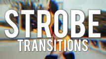 پروژه پریمیر ترانزیشن با فلش نور Strobe Transitions