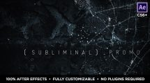 پروژه افترافکت اسلایدشو زیرزمینی Subliminal Slideshow