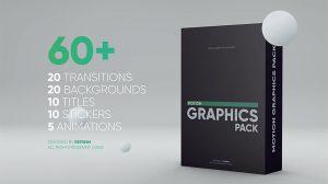 پروژه پریمیر مجموعه اجزای موشن گرافیک برای ویدیو