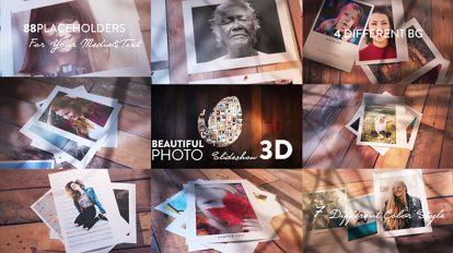 پروژه افترافکت اسلایدشو عکس Beautiful Photo Slideshow