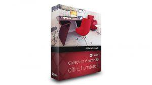 مجموعه مدل سه بعدی مبلمان اداری CGAxis Models Volume 80 Office ii
