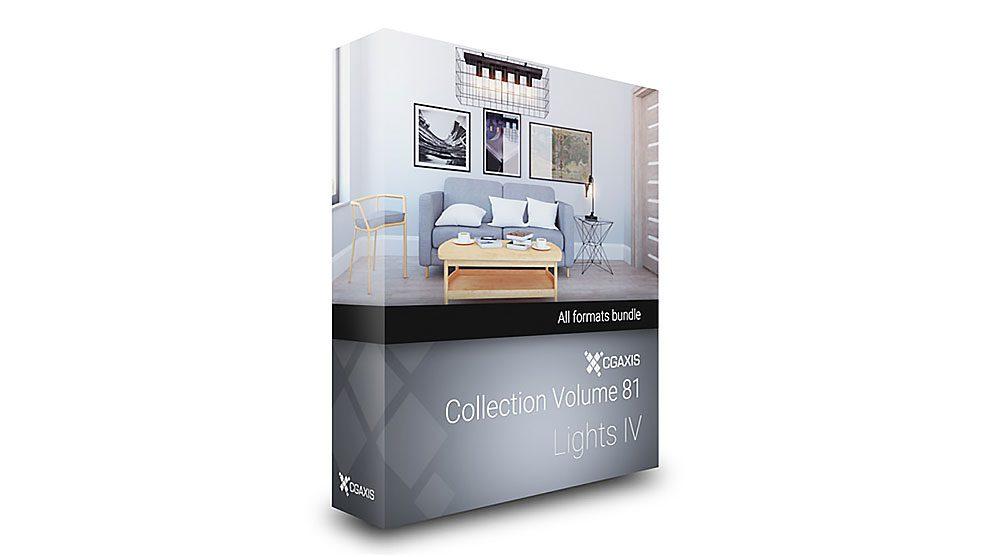 مجموعه مدل سه بعدی چراغ CGAxis Models Volume 81 Lights IV