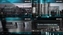 پروژه افترافکت تایم لاین شرکت Corporate Timeline