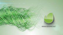 پروژه افترافکت نمایش لوگو با رشته نخ Elegant Threads Logo