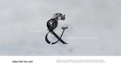 پروژه افترافکت متحرک سازی پرتره به سبک دابل اکسپوژر Fragment