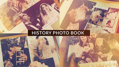 پروژه افترافکت آلبوم عکس تاریخی History Photo Book