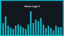 موزیک زمینه لوگو ترسناک Horror Logo 2