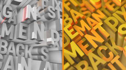 پروژه افترافکت نمایش لوگو با حروف Letter Logo Opener