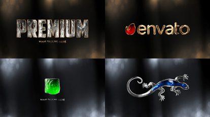 پروژه افترافکت نمایش لوگو با حرکت نور Premium Logo Reveal