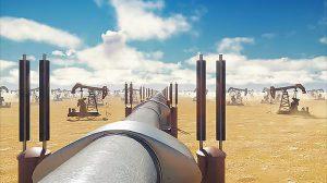 ویدیوی موشن گرافیک زمین پمپ و خط لوله نفت