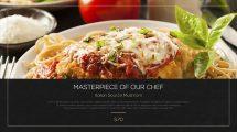 پروژه افترافکت تیزر تبلیغاتی رستوران Resturant Promo