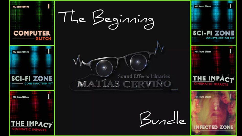مجموعه جامع افکت صوتی The Beginning Bundle