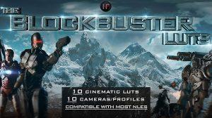 مجموعه پریست اصلاح رنگ فیلم The Blockbuster Luts