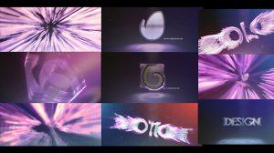 پروژه افترافکت نمایش لوگو با پرتوهای نور Your Logo