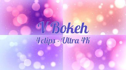 مجموعه فوتیج افکت نور بوکه Valentine Bokeh